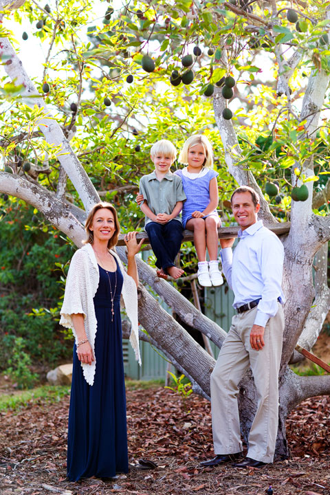 Catherine Blakespear & Family