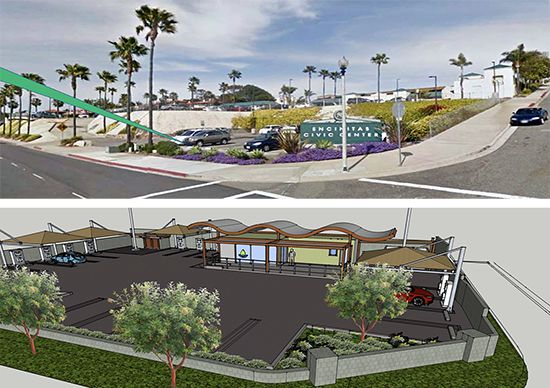 Encinitas City Hall Diagram