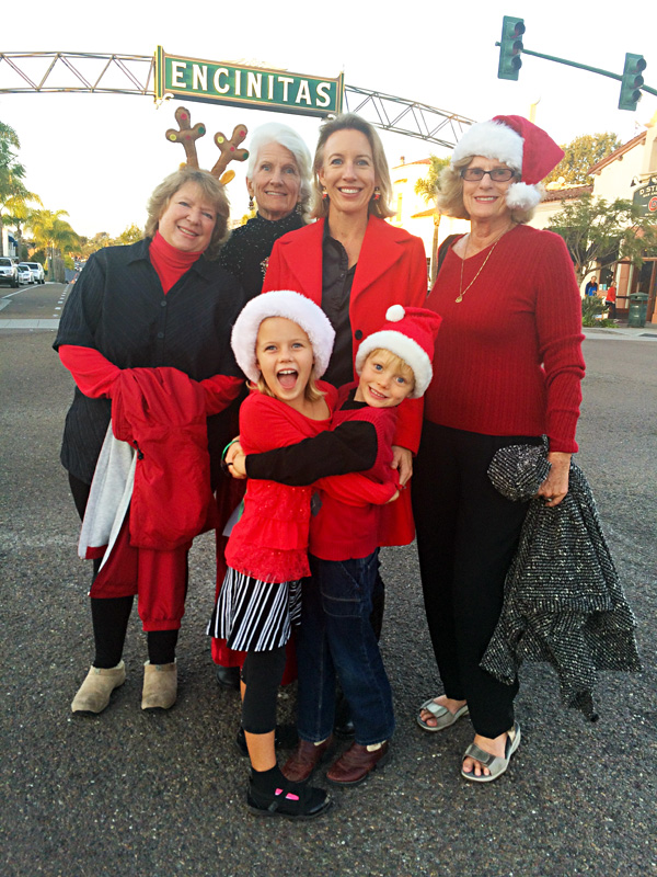 Catherine Blakespear 2014 Encinitas Holiday Parade