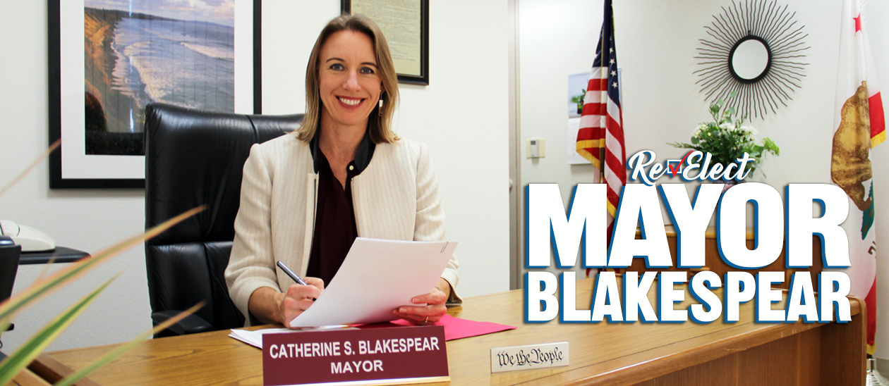 Encinitas Mayor Catherine S. Blakespear